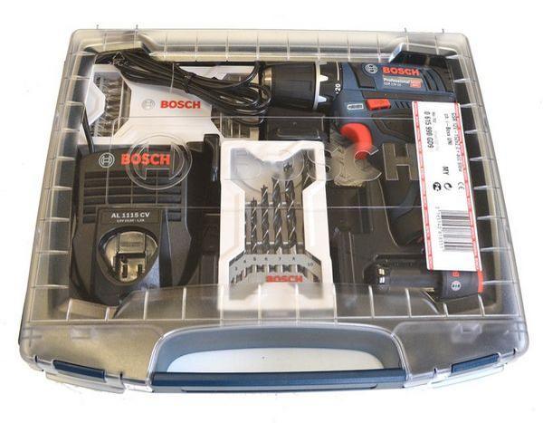 Отвертка Bosch GSR 10, 8-2 Li теперь доступна и в практичной пластиковой коробке и на 3 года