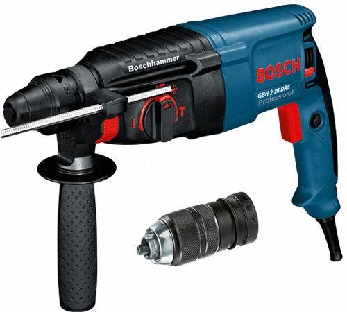 Перфоратор Bosch GBH 2-26 DRE. характеристики, технические характеристики, инструкция по эксплуатации, отзывы